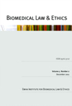BIOMEDICAL LAW & ETHICS