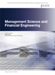 Management Science and Financial Engineering