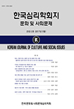 한국심리학회지: 문화 및 사회문제