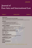 JOURNAL OF EAST ASIA AND INTERNATIONAL LAW