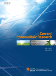 Current Photovoltaic Research