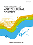 Korean Journal of Agricultural Science