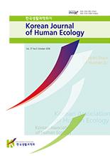 한국생활과학회지