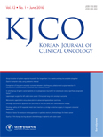 KOREAN JOURNAL OF CLINICAL ONCOLOGY