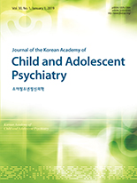 Jornal of the Korean Academy of Child and Adolescent Psychiatry