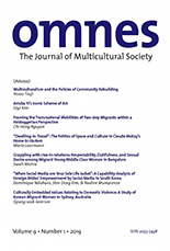 OMNES: The Journal of Multicultural Society