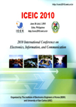 ICEIC : International Conference on Electronics, Informations and Communications