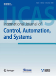 International Journal of Control, Automation, and Systems