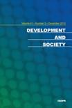 DEVELOPMENT AND SOCIETY Vol.41 No.2