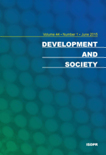 DEVELOPMENT AND SOCIETY Vol.44 No.1