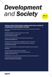 DEVELOPMENT AND SOCIETY Vol.44 No.3