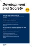 DEVELOPMENT AND SOCIETY Vol.45 No.1