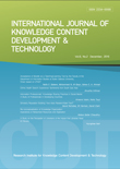 International Journal of Knowledge Content Development & Technology Vol.6, No.2