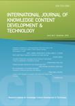 International Journal of Knowledge Content Development & Technology Vol.6, No.2