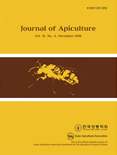 Journal of Apiculture Vol.31 No.4