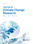Journal of Climate Change Research Vol.7 No.4