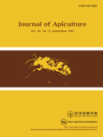 Journal of Apiculture Vol.32 No.3