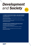 DEVELOPMENT AND SOCIETY Vol.47 No.1
