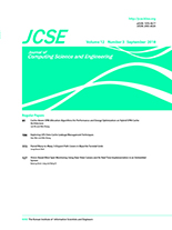 Journal of Computing Science and Engineering Vol.12 No.3
