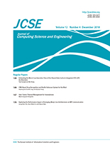 Journal of Computing Science and Engineering Vol.12 No.4
