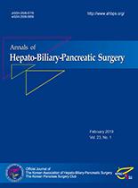 Korean Journal of Hepato-Biliary-Pancreatic Surgery