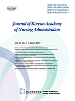 Journal of Korean Academy of Nursing Administration