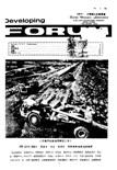 Developing Forum Vol.3, No.2