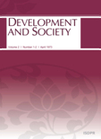 BULLETIN OF THE POPULATION AND DEVELOPMENT STUDIES CENTER Vol.2