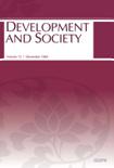 BULLETIN OF THE POPULATION AND DEVELOPMENT STUDIES CENTER Vol.13