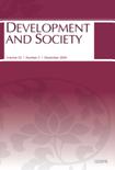 DEVELOPMENT AND SOCIETY Vol.33 No.2