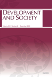 DEVELOPMENT AND SOCIETY Vol.35 No.2