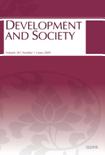 DEVELOPMENT AND SOCIETY Vol.38 No.1