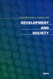 DEVELOPMENT AND SOCIETY Vol.38 No.2