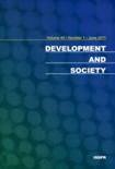 DEVELOPMENT AND SOCIETY Vol.40 No.1