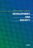 DEVELOPMENT AND SOCIETY Vol.41 No.1